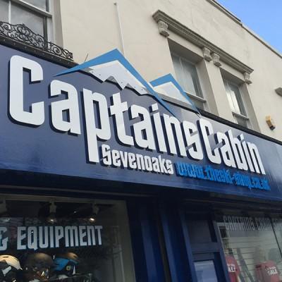 Fascia Signs - Captains Cabin