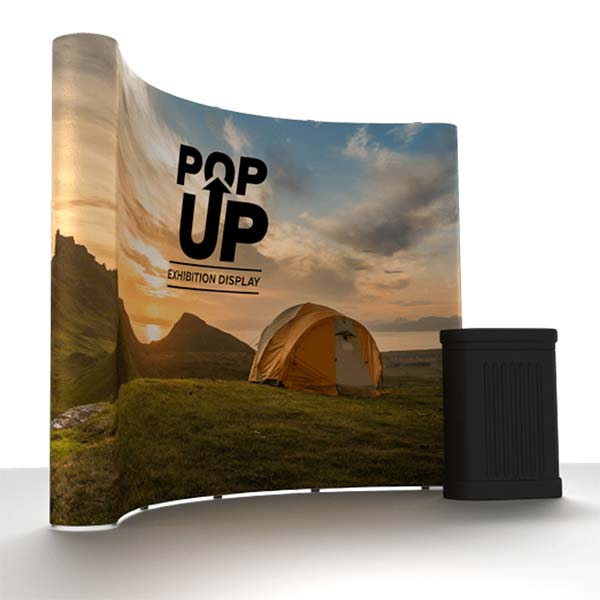Pop-Up Curved